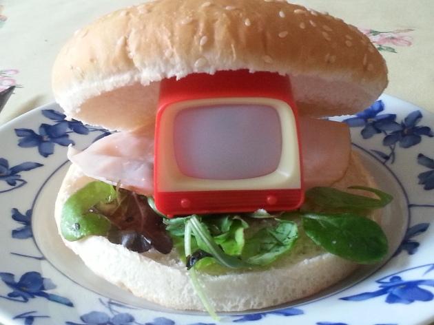 hamburguesa dentro
